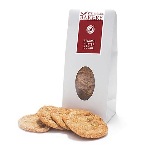 sesame butter cookies